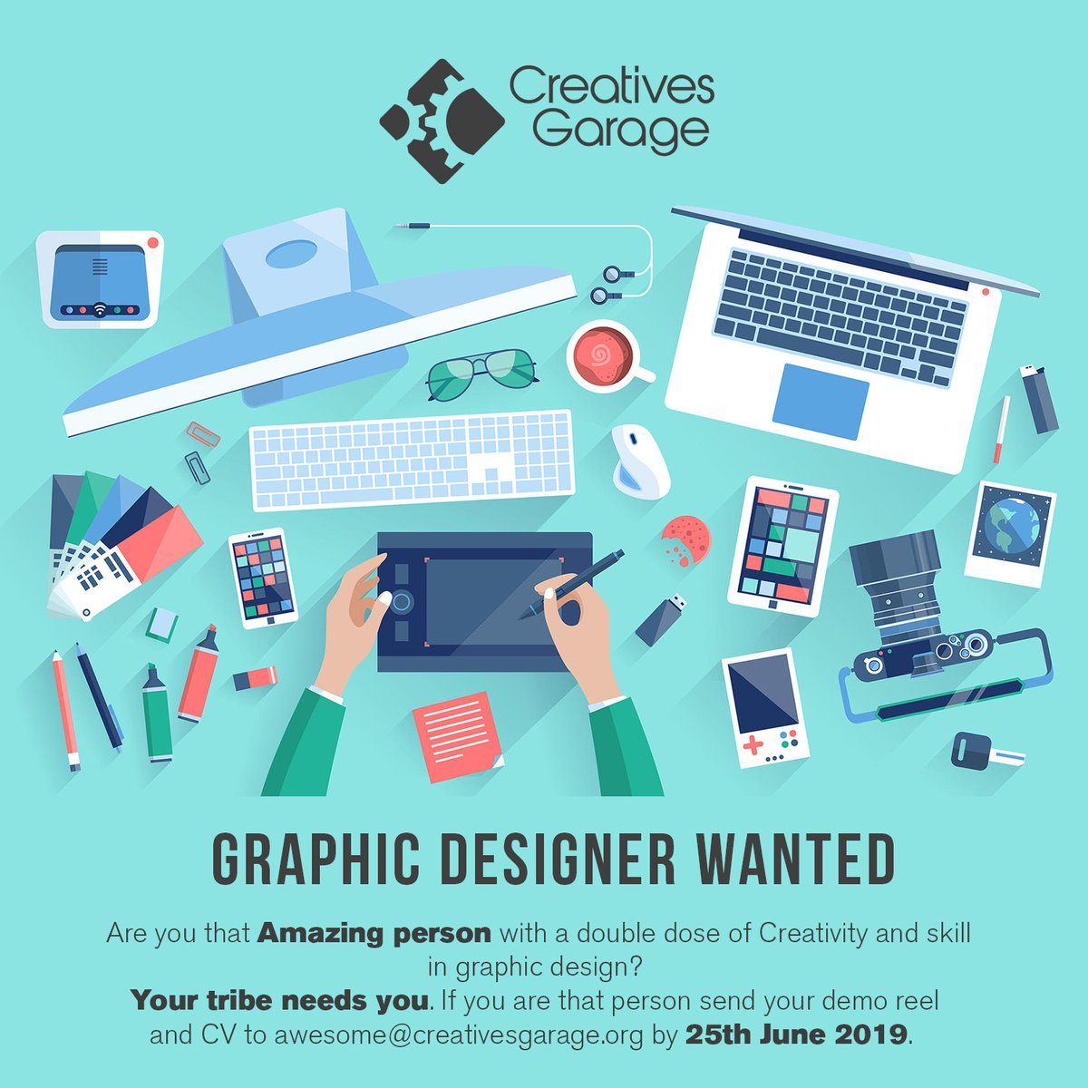 A Great Opportunity for Graphic Designers