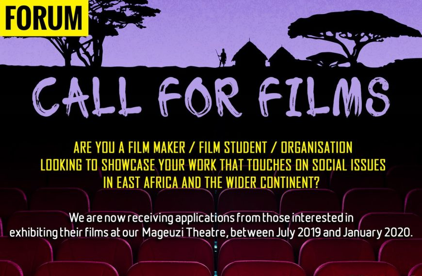 Call for Submissions: PAWA Film Forum
