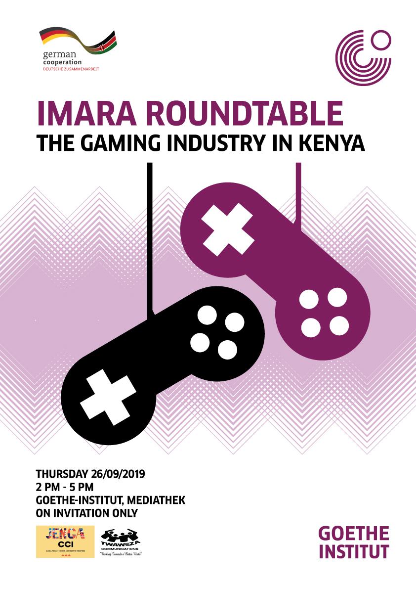 IMARA ROUND TABLE ON GAMING INDUSTRY IN KENYA