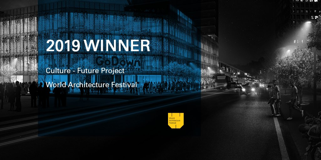 GoDown Arts Centre a Winner at 2019 World Architecture Festival