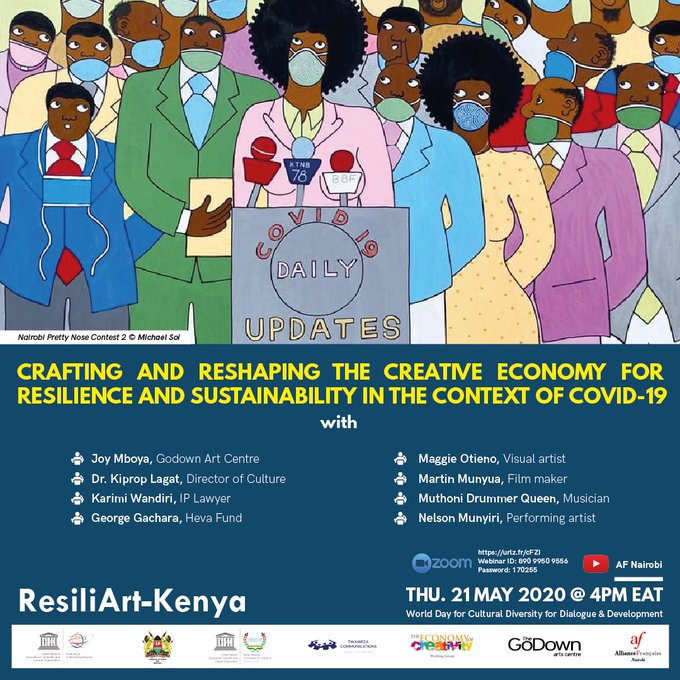 Crafting and Reshaping the creative economy for resilience and sustainability in the context of COVID-19
