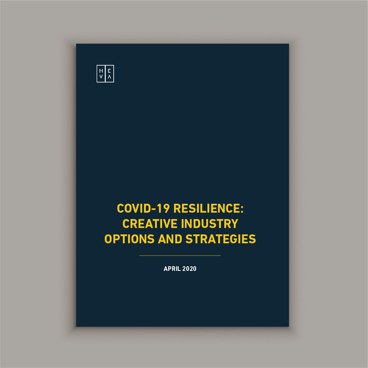 COVID-19 Resilience: Creative Industry Options and Strategies