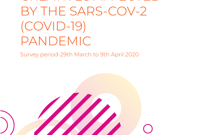 Survey Report On Creatives Affected By The SARS-COV-2 (COVID-19) Pandemic
