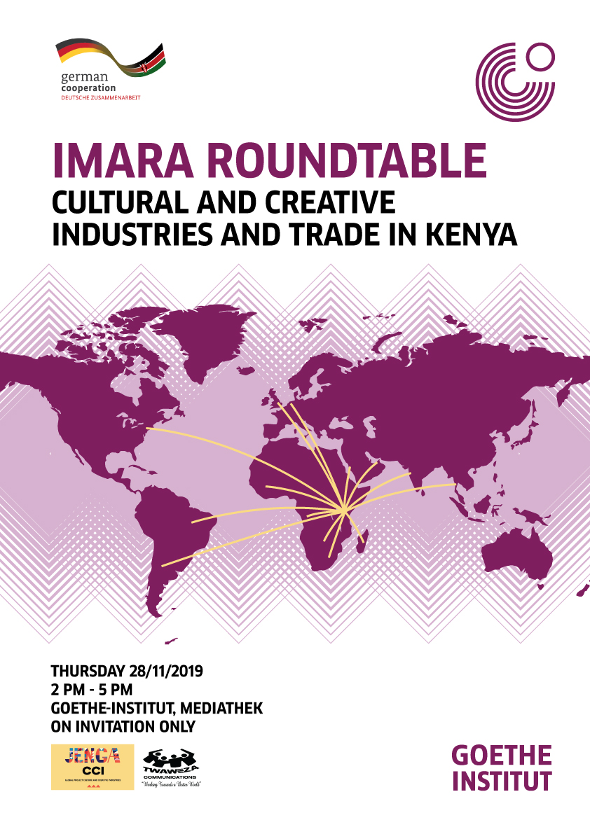 IMARA ROUND TABLE: Cultural and Creative Industries and Tourism in Kenya