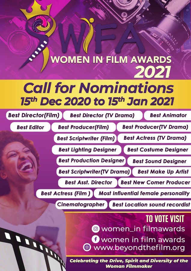 2nd Edition of Women In Film Awards