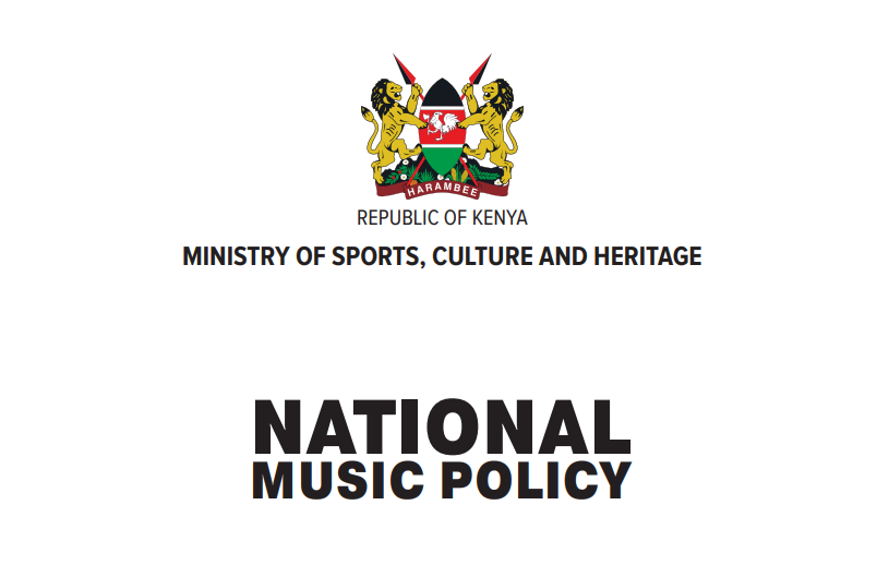 NATIONAL MUSIC POLICY