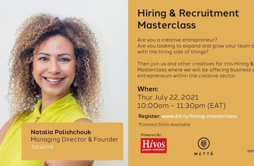 Hiring & Recruitment Masterclass