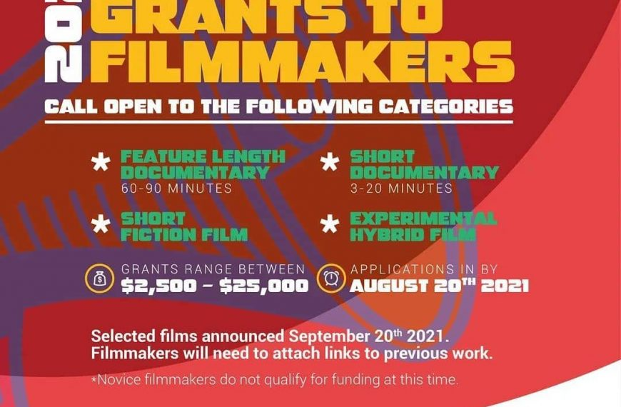 2021 DOCUBOX Grant to filmmakers.