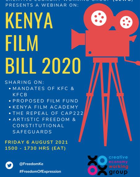 DRAFT KENYA FILM BILL FOR PUBLIC CONSULTATION